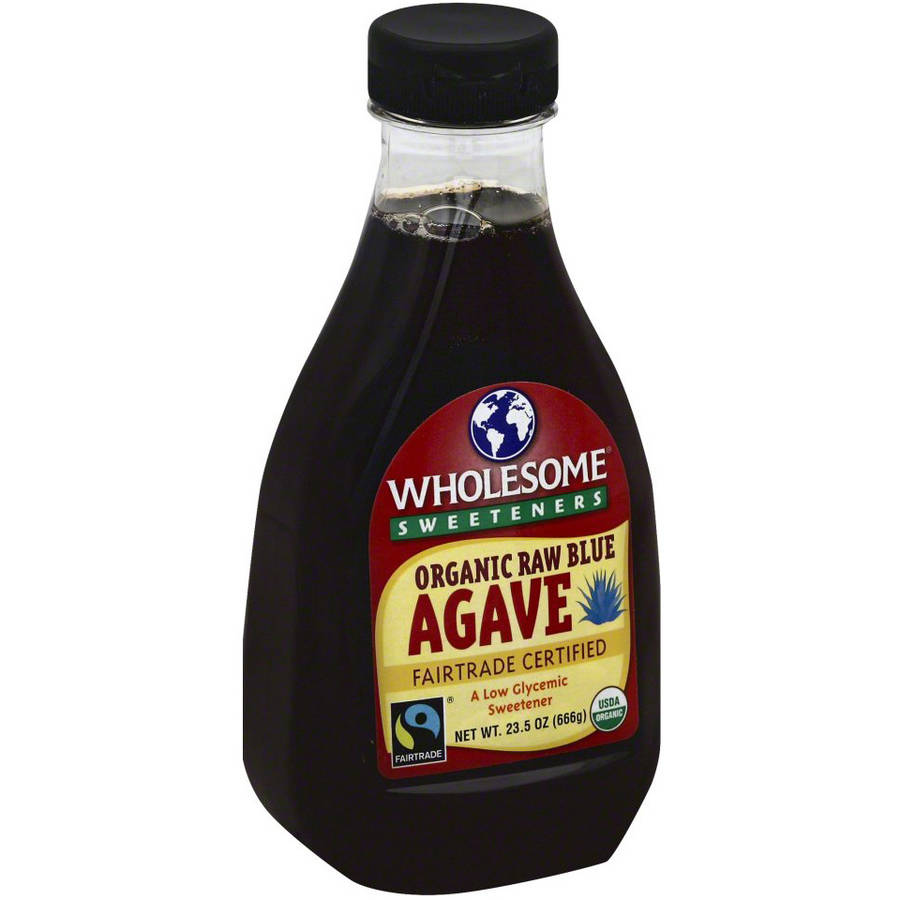 Wholesome Sweeteners Organic Raw Blue Agave, 23.5 OZ (Pack of 6)