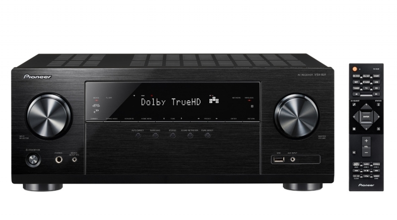 Pioneer VSX-831 5.2-Channel Receiver with MCACC and Built-In Bluetooth and Wi-Fi by Pioneer