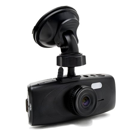 KamO G1W-HC CarCorder Capacitor Dash Cam - WDR 160° Wide Angle 4X ZOOM - Full HD 1080P H.264 2.7