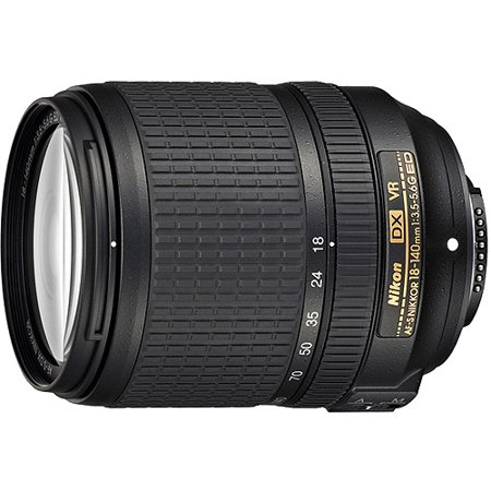Nikon Nikkor AF-S DX 18-140mm f/3.5-5.6G ED VR Telephoto and Wide Angle Zoom