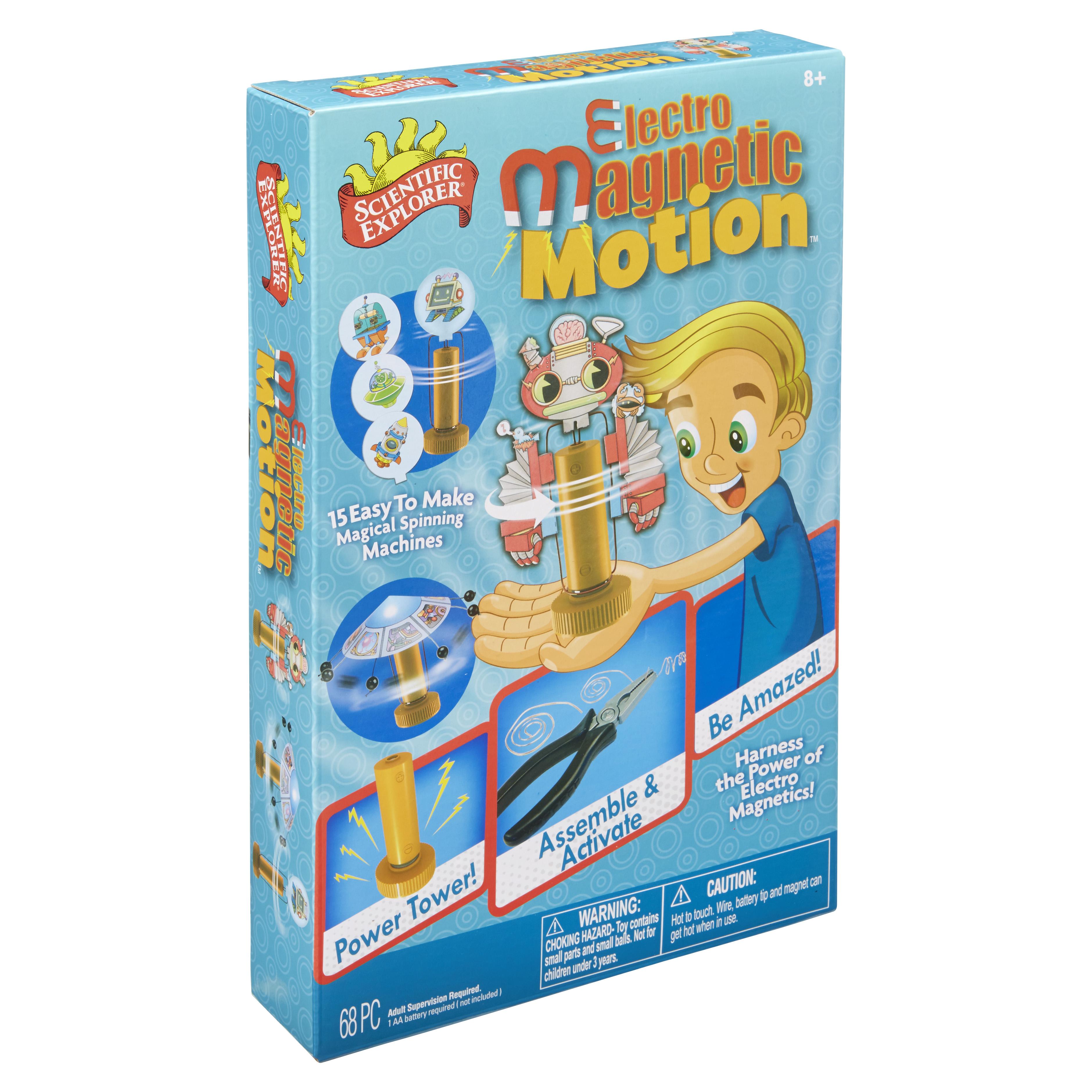 Scientific Explorer Electro Magnetic Motion