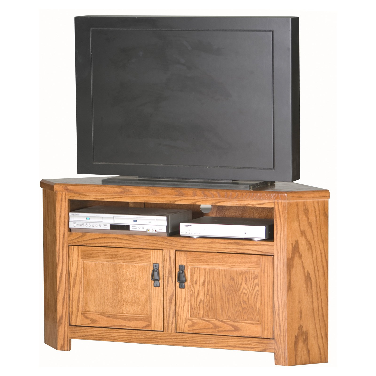 Eagle Furniture Mission 50 in. Corner Entertainment Center