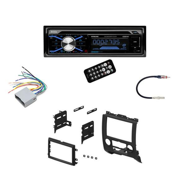 Boss In Dash Car Stereo Audio Receiver + Mounting Kit + Wire Harness +  Adapter - Walmart.com - Walmart.comWalmart.com