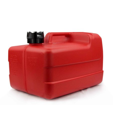 Five Oceans Marine 3 Gallon Portable Fuel Tank Low-Permeation w/ Gauge FO-4129 ()