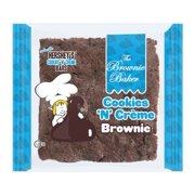 Brownie Baker Cookies and Creme Brownie, 4 Ounce - 1 each.