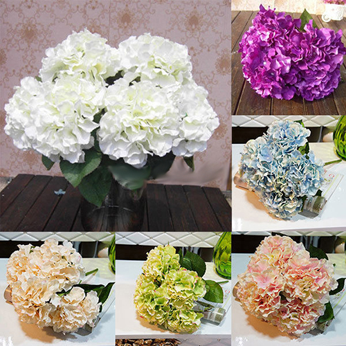 Girl12Queen 1 Bouquet 5 Heads Beautiful Artificial Fake Flower Bridal Home Party Decoration