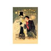 Mothu Et Doria: Scenes Impressionnistes Print (Unframed Paper Print 20x30)