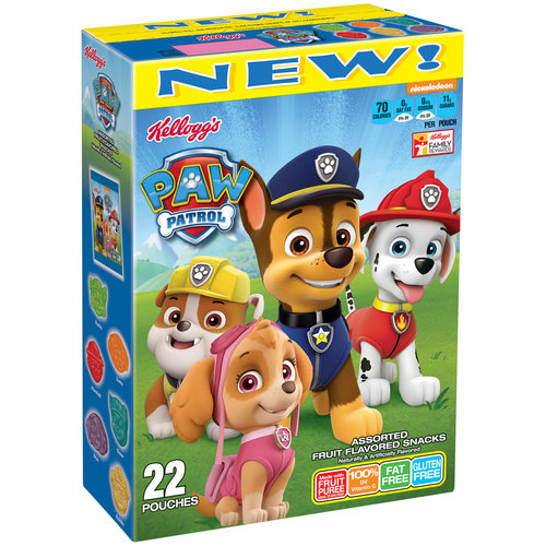 Kellogg's Paw Patrol Fruit Snacks 22ct