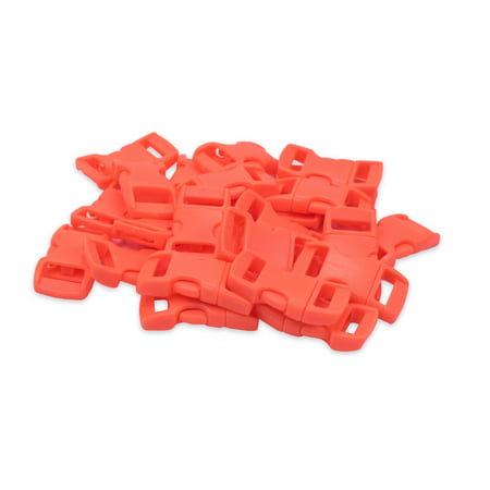 Paracord Planet 3/8 Inch Side Release Contoured Buckles in Various Colors and Sizes