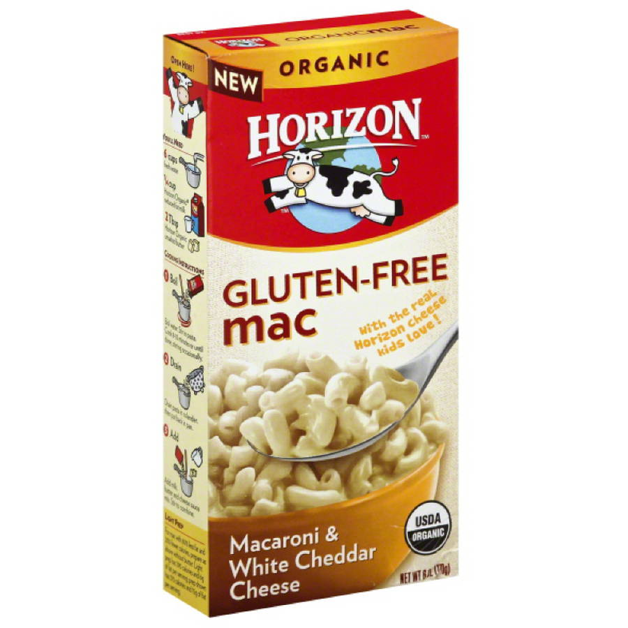 ***Discontinued***Horizon organic macaroni & white cheddar cheese gluten-free macaroni & cheese, 6 oz, (pack of 15)