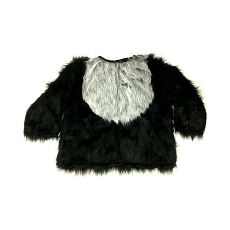 Adults Men's Gorilla Ape Puppy Monkey Harambe Tribute Faux Fur Shirt Large 42 (Puppy Monkey)