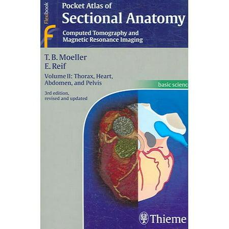 Pocket Atlas Of Sectional Anatomy Volume Ii Computed Tomography