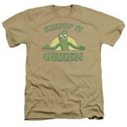 Gumby Keepin It Green Mens Heather Shirt