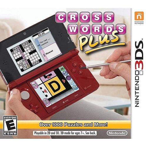 Crosswords Plus (Nintendo 3DS)