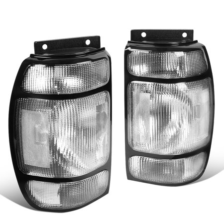 For 1995 to 1997 Ford Explorer Mercury Mountaineer Pair Rear Brake Tail Light Reverse Lamps 96 1995 95 Ford Explorer Tail