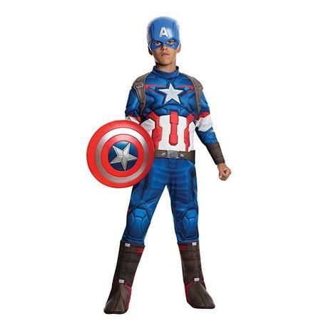Avengers 2 Captain America Costume (Child Avengers 2 Captain America Costume with)