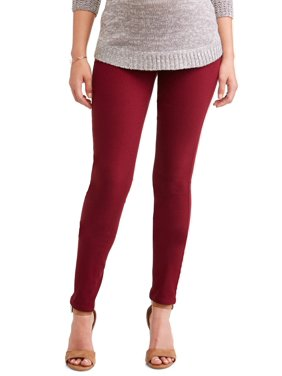 Maternity Oh! Mamma Skinny Pant with Demi Panel (Available in Plus Sizes)