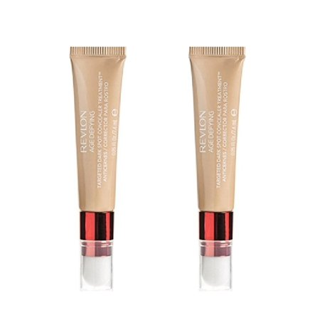Concealer Makeup Tutorial (Revlon Age Defying Targeted Dark Spot Concealer, Medium Deep, 0.22 Oz (2 Pack) + Schick Slim Twin ST for Sensitive Skin + Cat Line Makeup)