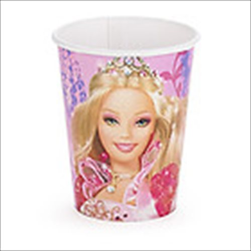 Barbie '12 Dancing Princesses' 9oz Paper Cups (8ct)