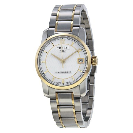 T-Classic Automatic Mother of Pearl Dial Two-tone Ladies Watch T0872075511700 ()