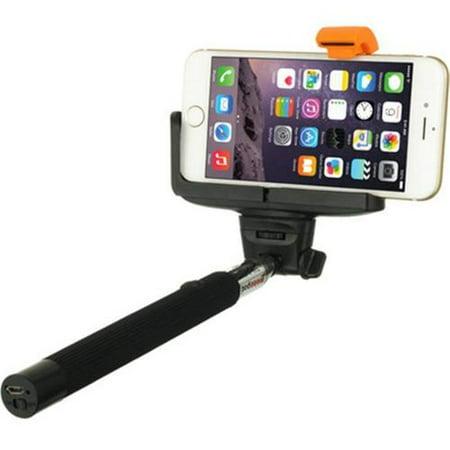 selfie stick wireless self timer monopod black. Black Bedroom Furniture Sets. Home Design Ideas