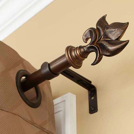 Better Homes And Gardens Botanical Curtain Rod Oil Rubbed