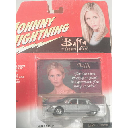 JOHNNY LIGHTNING : GILES' CITROEN, 1/64 Scale By Buffy the Vampire Slayer Ship from US