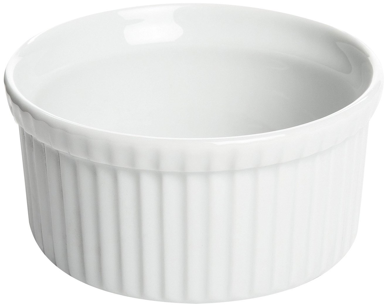 Fox Run 4-Ounce White StoNeware Ramekin Glazed Finish by Fox Run