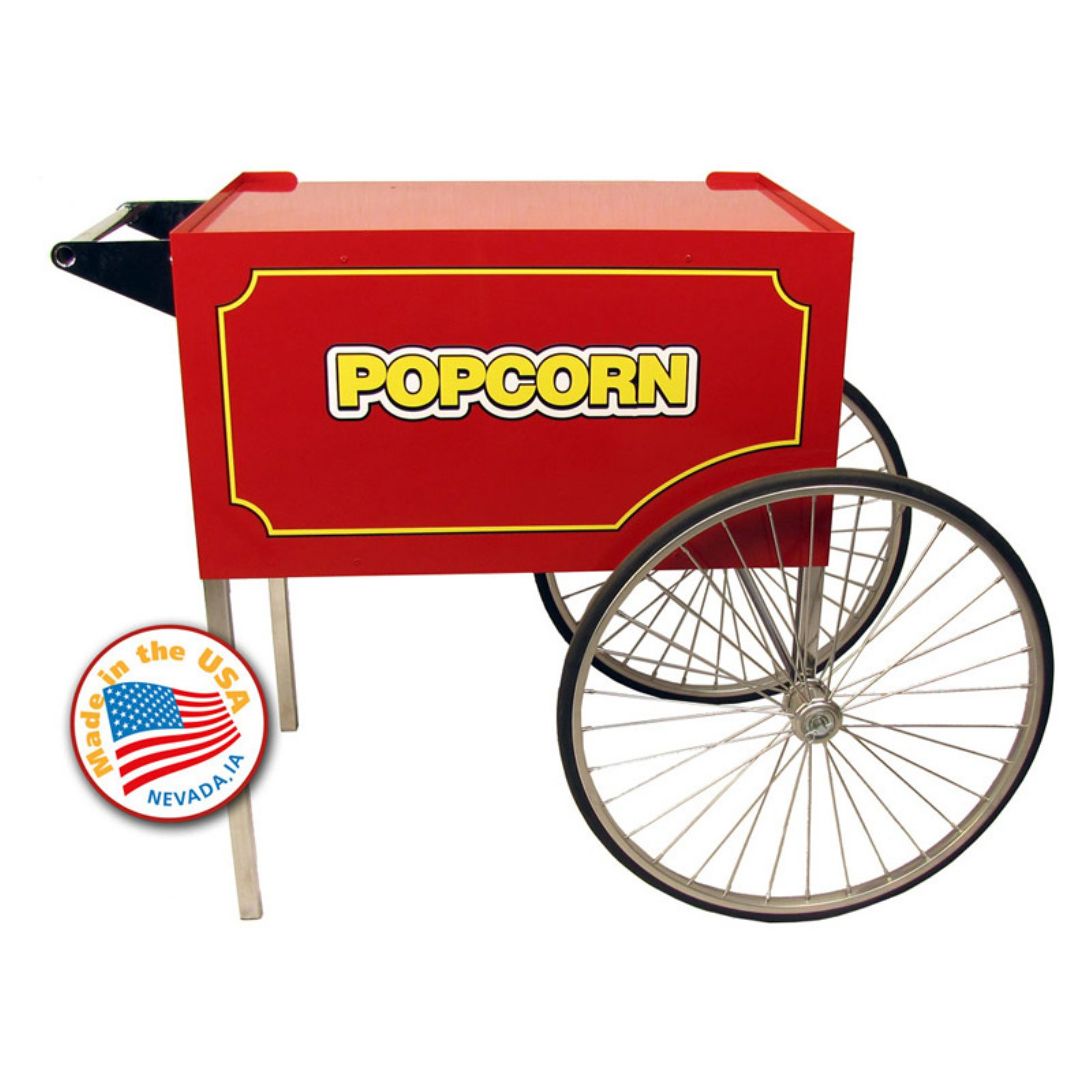 Paragon Large Red Classic Pop Cart