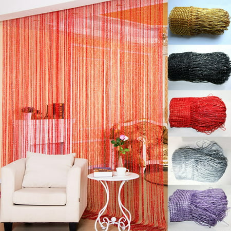 Dior Crystal (Moaere Door String Curtain Beads Window Panel Room Divider Crystal Tassel Fringe Beaded Today's Specials )