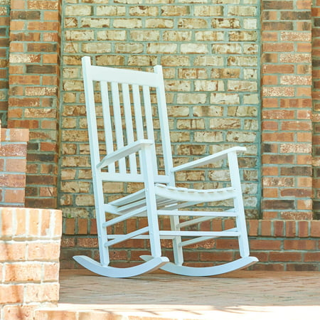 Awe Inspiring Shine Company Vermont Porch Rocker White Pabps2019 Chair Design Images Pabps2019Com