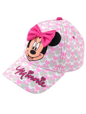 Toddler Girls Minnie Mouse Bowtique Cotton Baseball Cap, Age 2-3