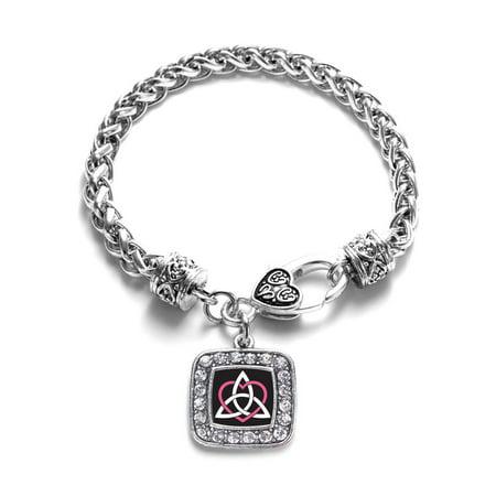 Celtic Sisters Knot Classic Charm Braided Bracelet