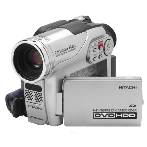 Hitachi K DVD HDD Hybrid Camcorder