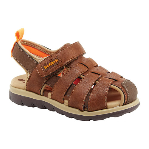 Step and Stride Cromar Boys' Fisherman Sandal