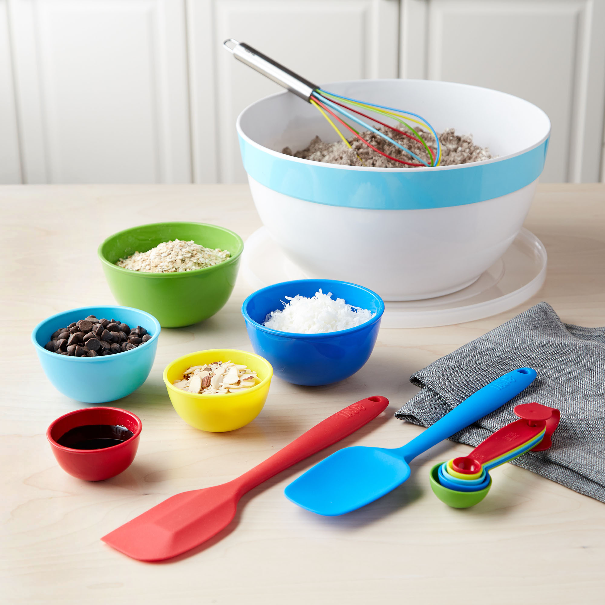 Tasty 15pc Melamine Bowl and Baking Set