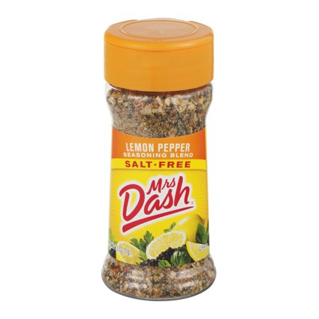 Lemon Asiago - (3 Pack) Mrs. Dash Lemon Pepper Salt-Free Seasoning Blend 2.5 Oz