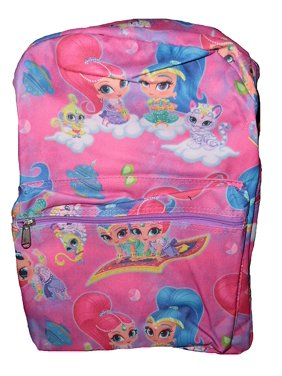 b03a035d92ce Product Image Nickelodeon Shimmer   Shine Carpet Ride School Backpacks  (Dark Pink)