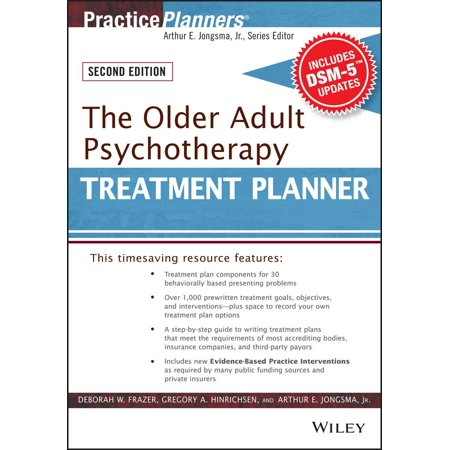 PracticePlanners: The Older Adult Psychotherapy Treatment Planner, with Dsm-5 Updates, 2nd Edition (Other) for $<!---->