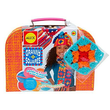 Alex Toys Craft Granny Squares Crochet Kit Walmartcom