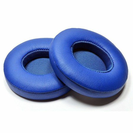 For Beats Solo 2 & 3 Earpad Replacement - Beats Solo Cushion Replacement for Solo 2 & 3 Wireless On Ear Headphones (1 Pair /Blue) (Beats Solo Headphones Wireless)