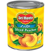 Del Monte Sliced Peaches in Extra Light Syrup, 105 oz