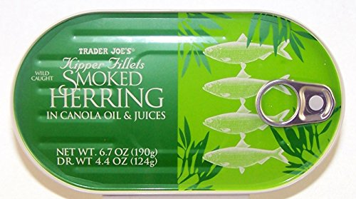 Kipper Fillets Smoked Wild Caught Herring (Pack of 3) by