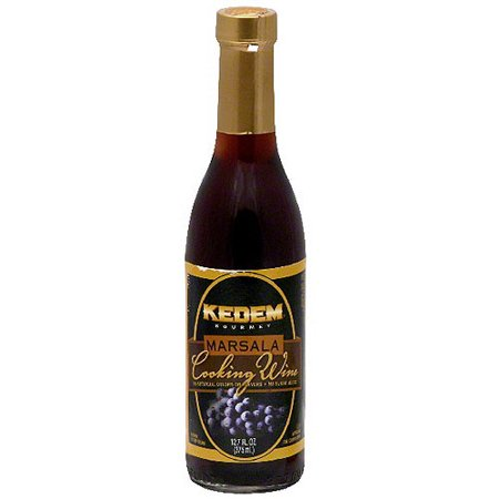 Kedem Marsala No Sugar Cooking Wine, 12.7 oz (Pack of 12)