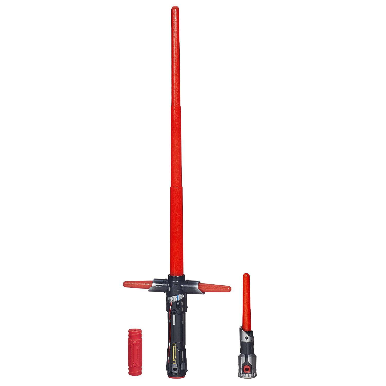 Star Wars The Force Awakens Kylo Ren Deluxe Electronic Lightsaber