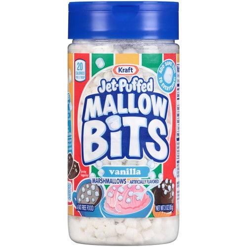 Jet-Puffed Mallow Bits Vanilla Marshmallows, 3 oz