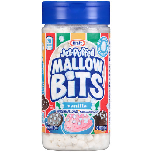 Jet-Puffed Mallow Bits Vanilla Marshmallows, 3 oz