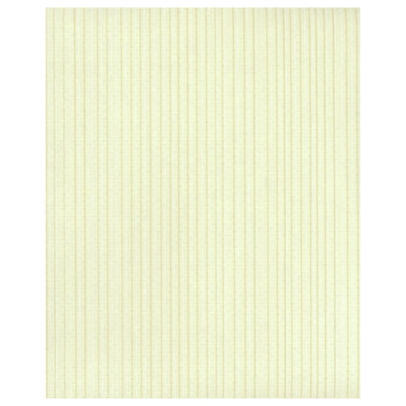 Ticking Stripe Wallpaper - Yellow
