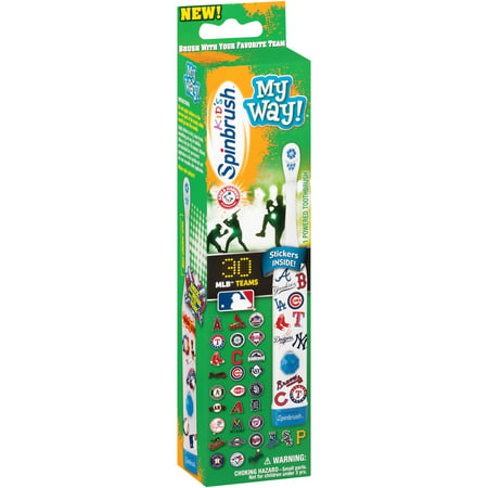 Arm & Hammer Kid's Spinbrush My Way! Powered Toothbrush