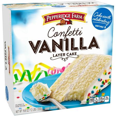 Pepperidge Farm Cake Vanilla